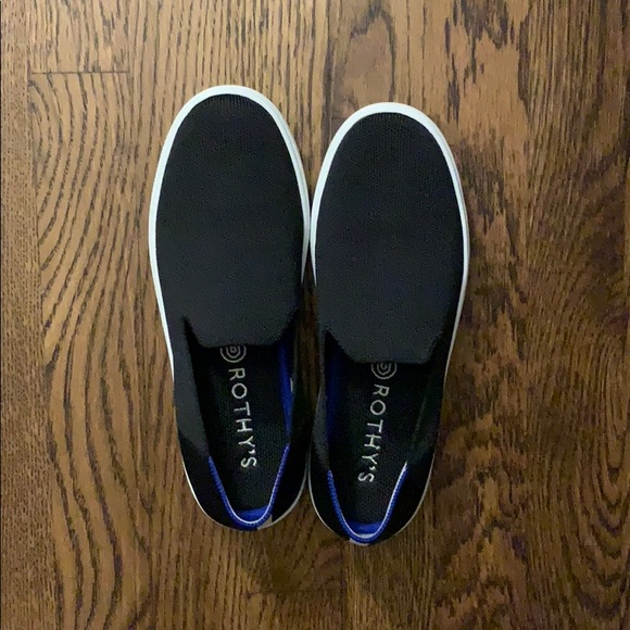 Rothy's Shoes | Rothys Sneaker Black